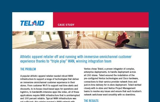 Athletic Retailer WAN Case Study
