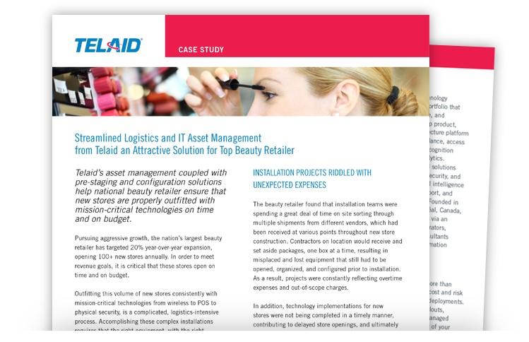Telaid Retailer IT Asset Management Case Study