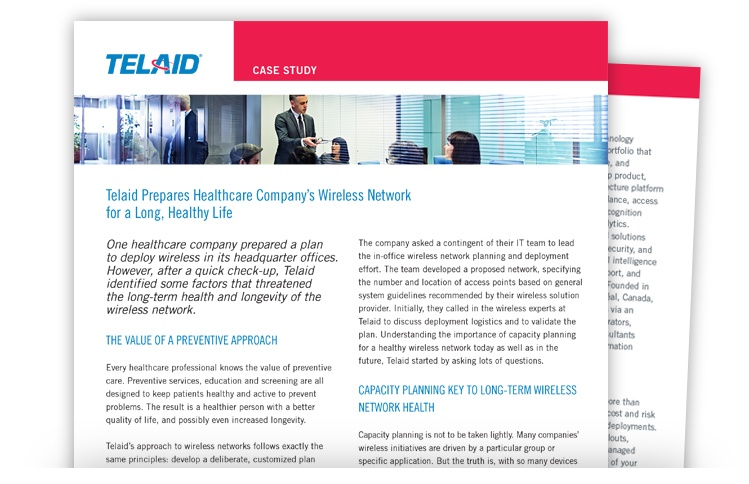 Telaid Corporate Wireless Network Deployment Case Study