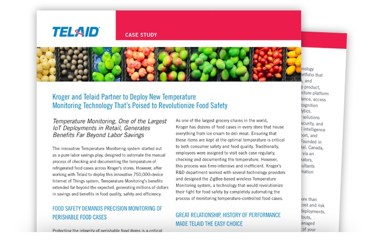 Telaid Temperature Monitor Deployment Case Study