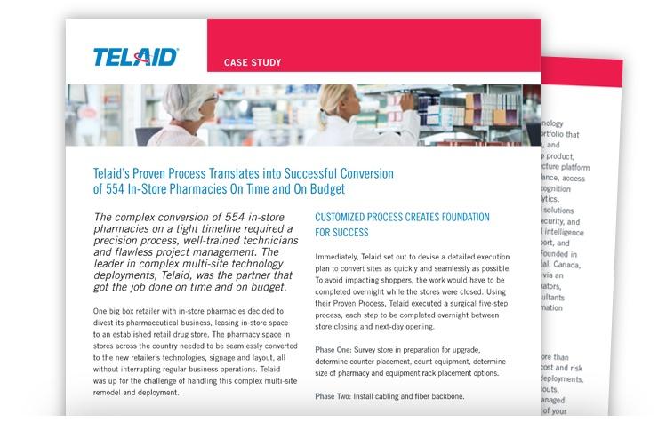 Telaid Retail Pharmacy Technology Deployments Case Study