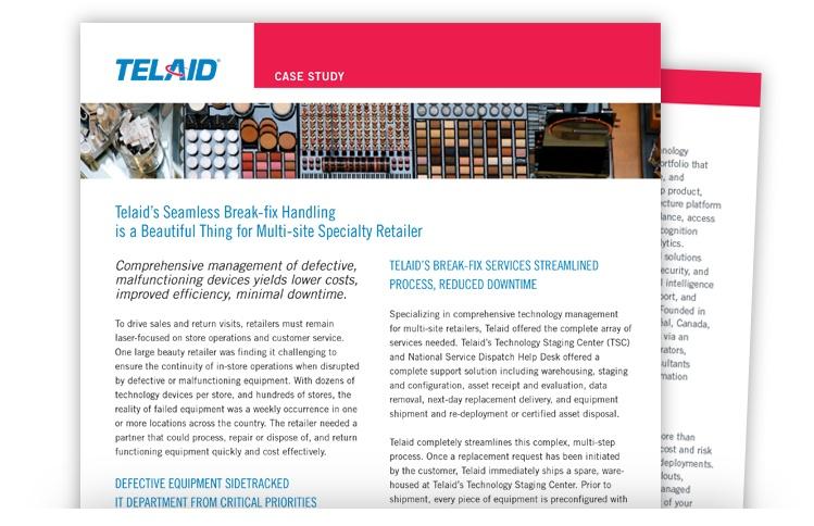 Telaid Retailer Break-fix Handling Case Study
